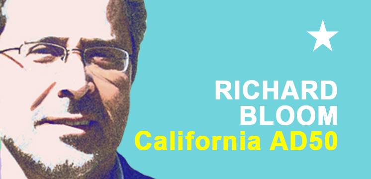 RICHARD BLOOM REELECTION CAMPAIGN
